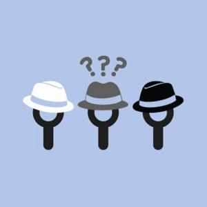 white hat gray hat black hat
